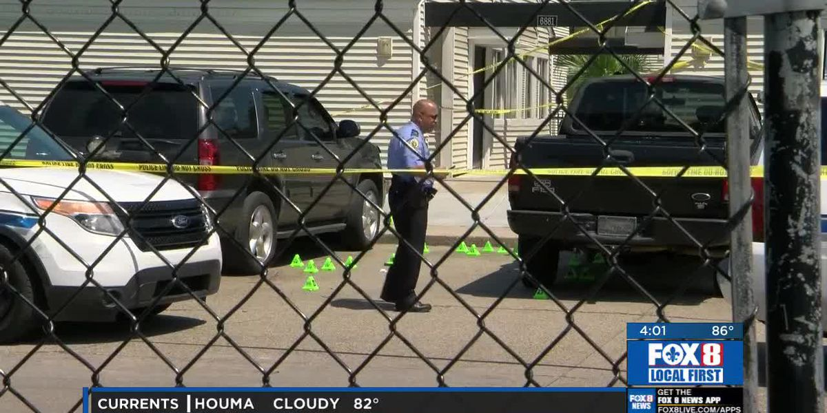 NOPD investigates officers shooting of armed man in apartment complex