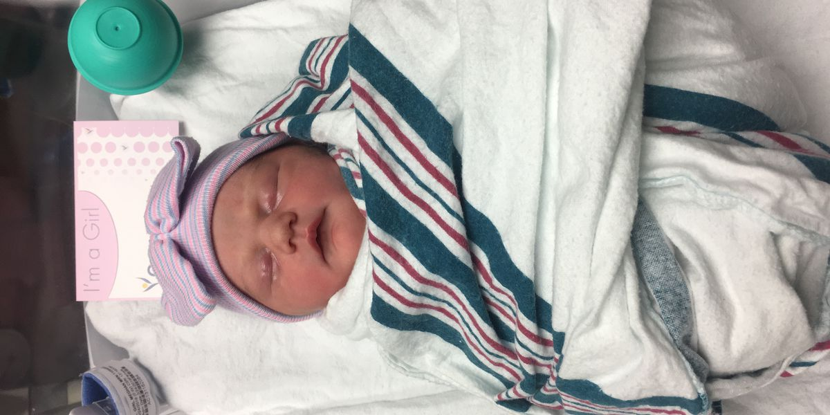 Meg Gatto and husband welcome new baby