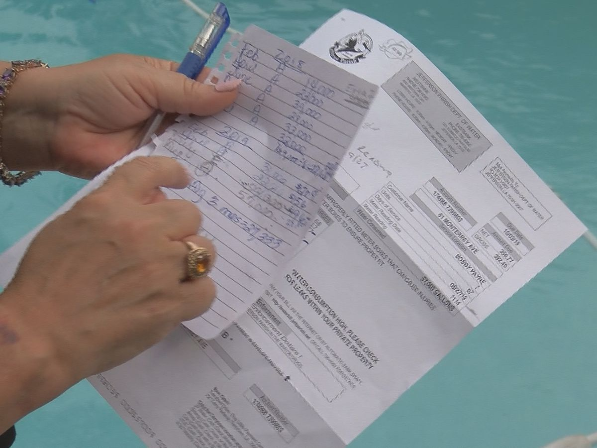 Thousands of Kenner residents with abnormally high water bills due to estimated readings
