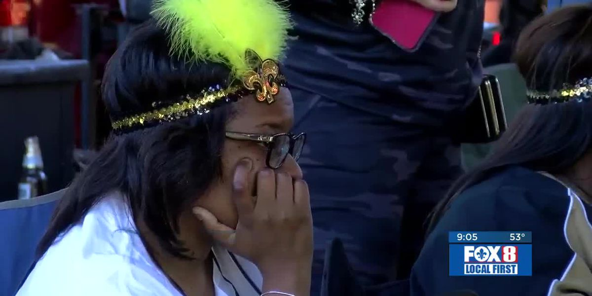 Saints fans react to Wild Card playoff loss against Vikings