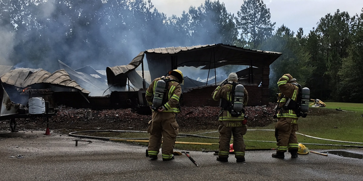 Woman dies in Lacombe house fire