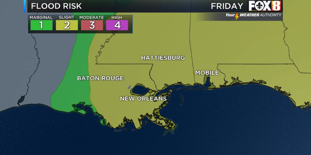 More storms likely Friday