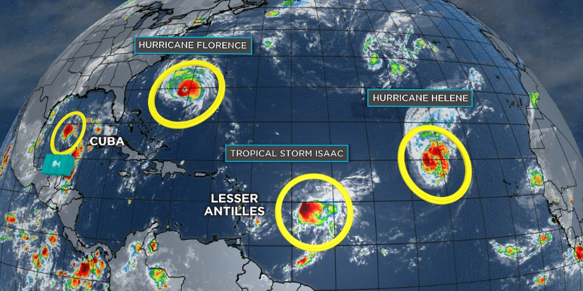 Bruce: The Tropics Are Extremely Active