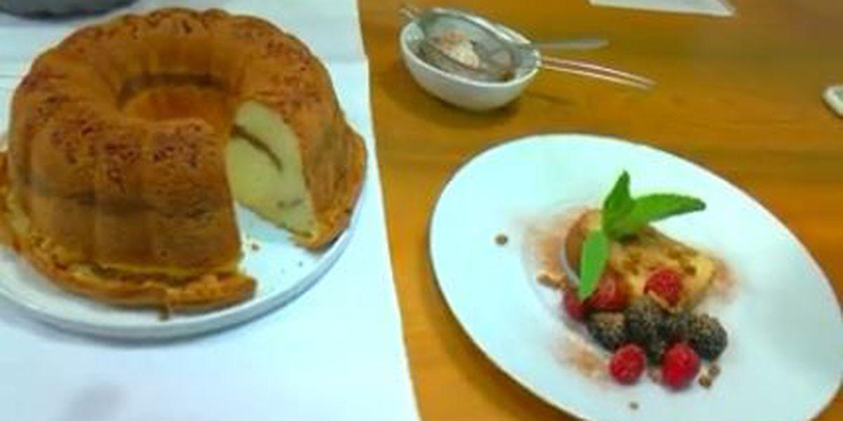 Chef John Folse: Ricotta cheese pecan pound cake