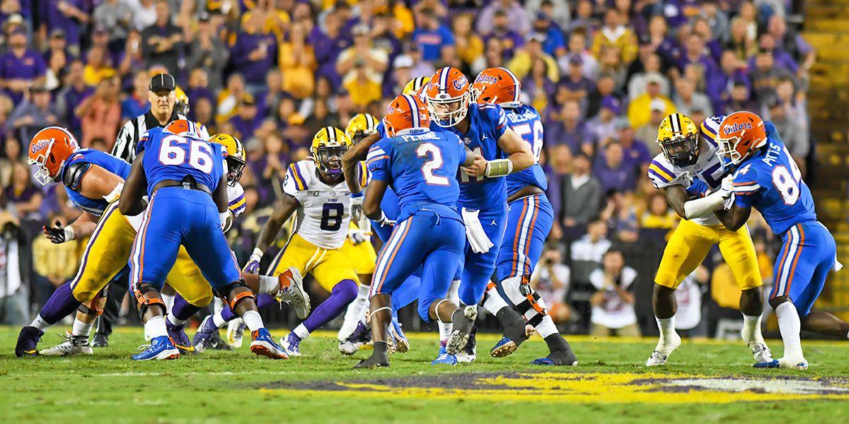 LSU vs. No. 10 Florida postponed due to COVID-19 outbreak in Gators football program