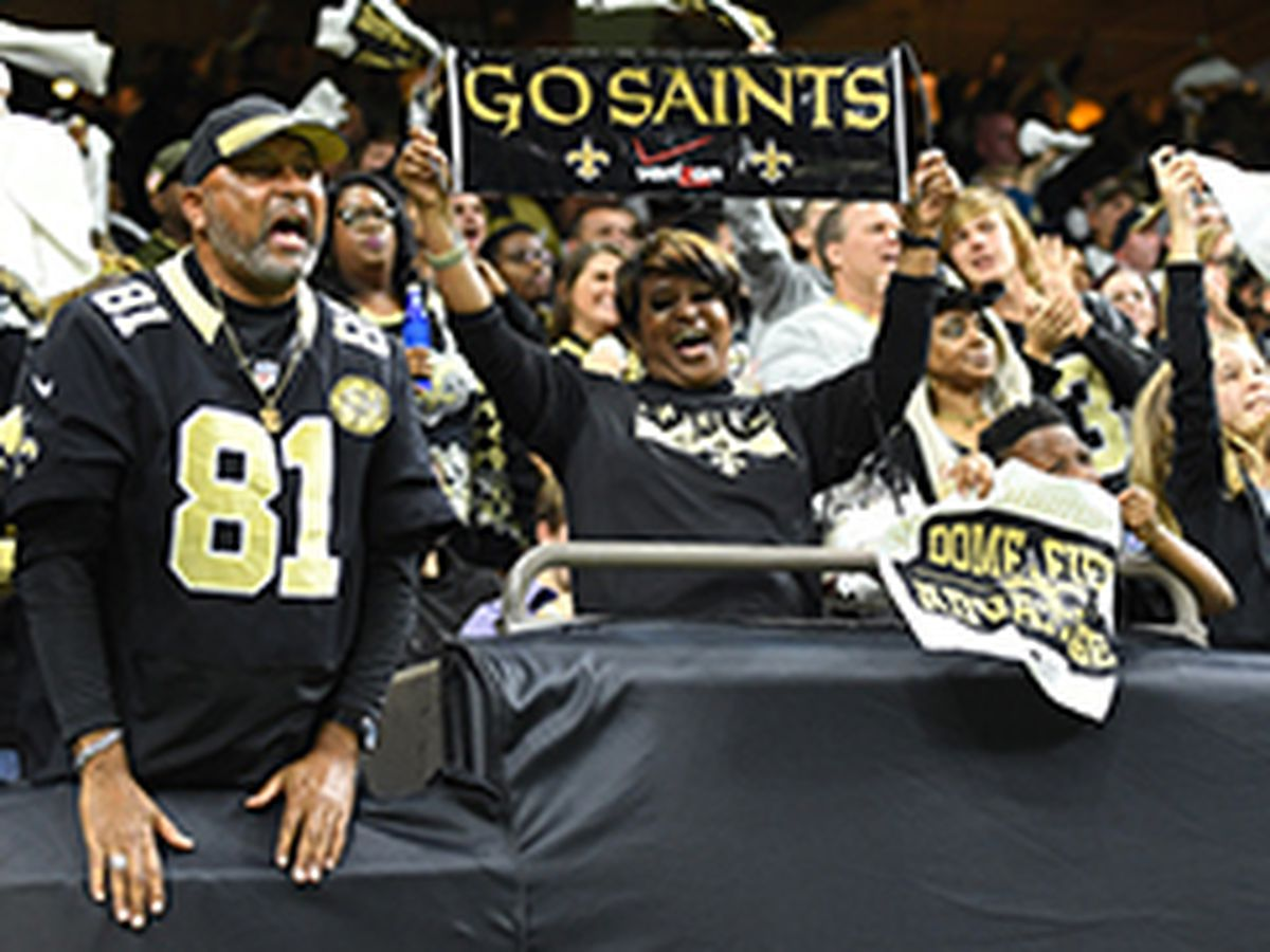 Saints Fan Pics: Who Dat Nation shows off their black and gold spirit