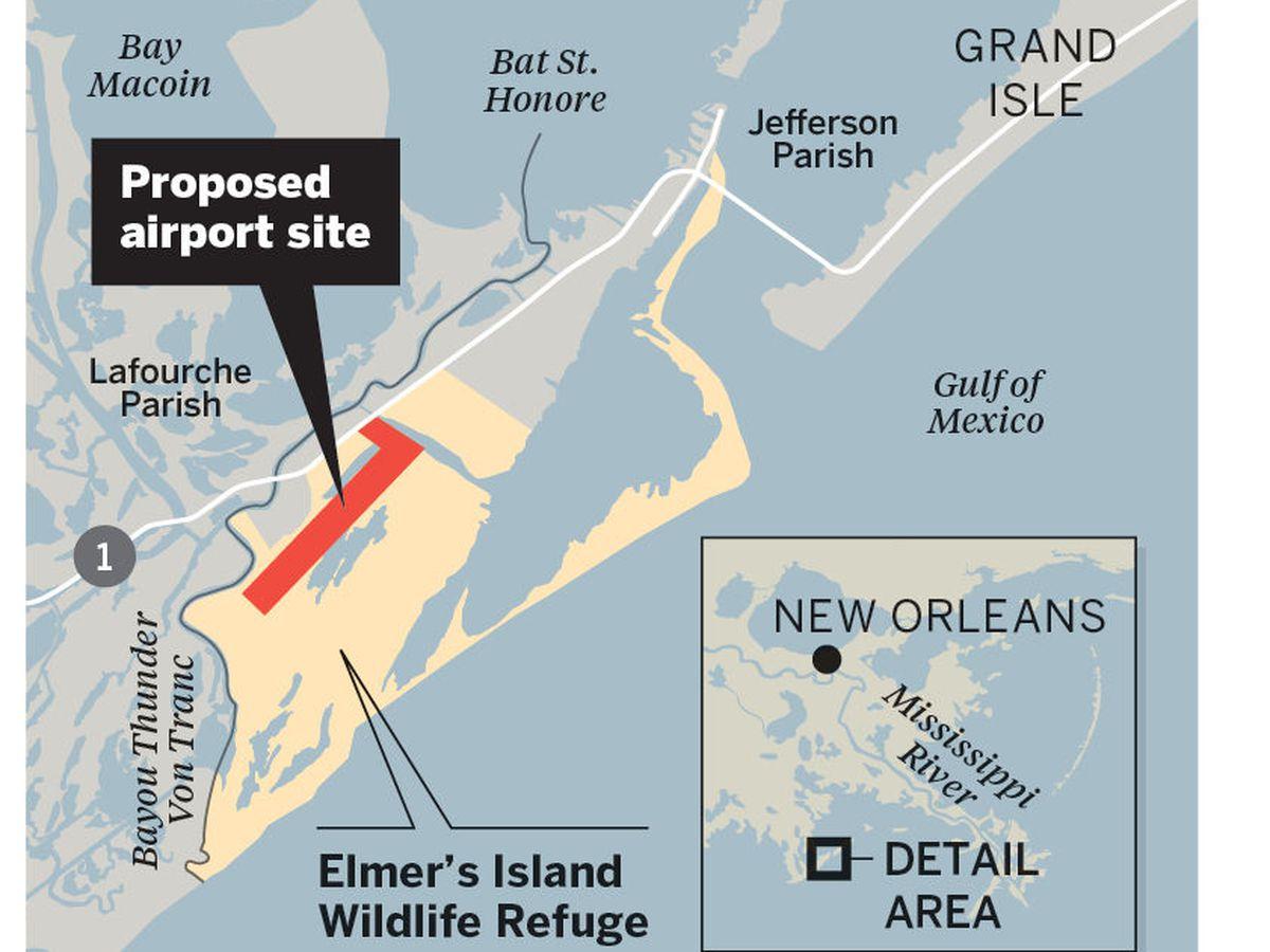 Feedback welcomed on Elmer's Island airport proposal