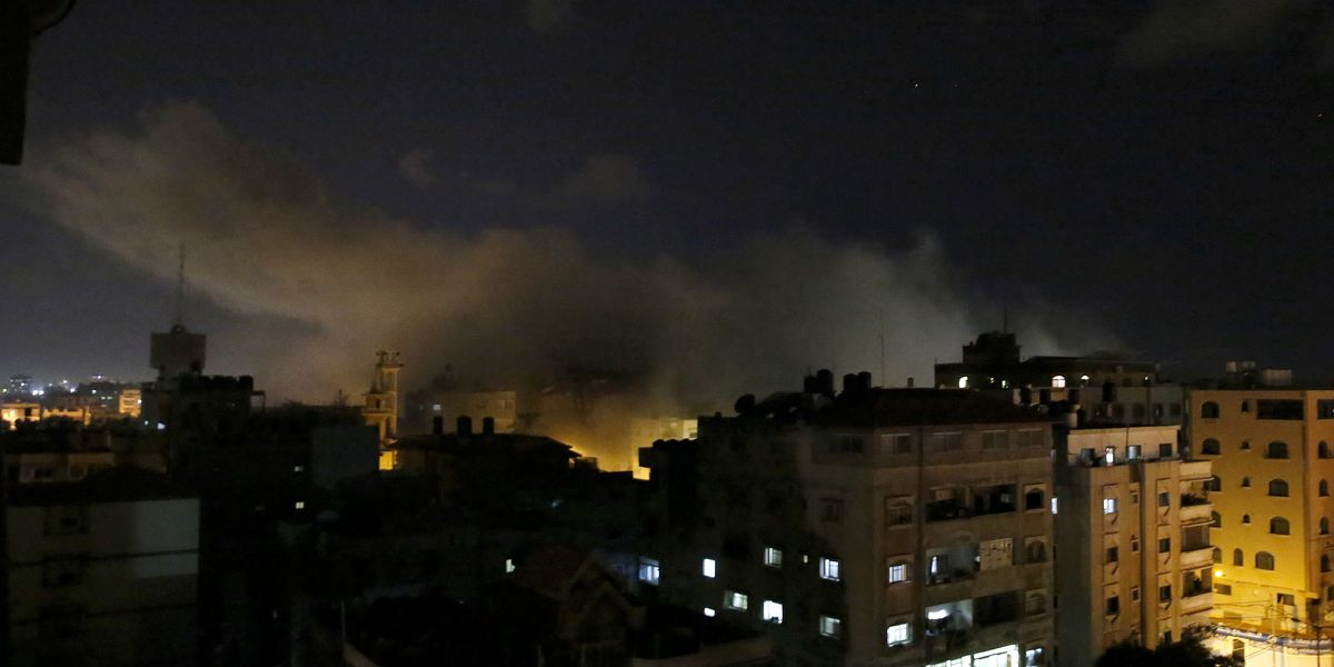 The Latest: Hamas threatens to step-up rocket fire at Israel