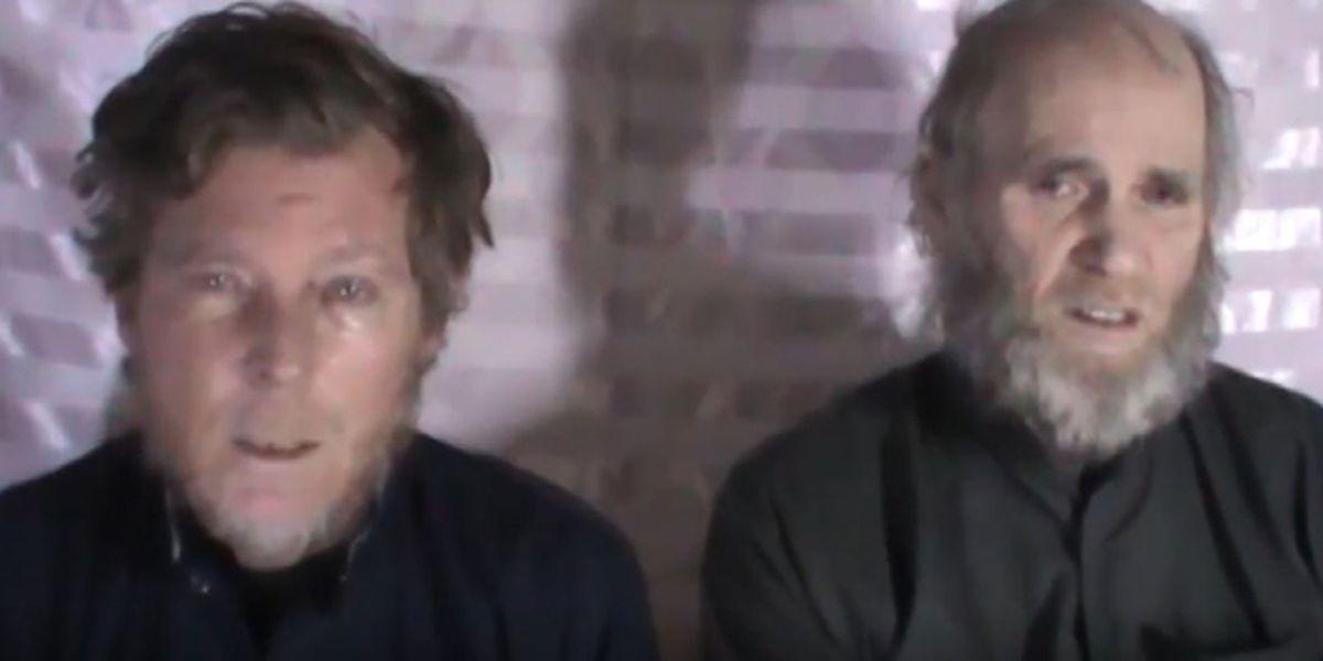 US, Australian hostages freed by Taliban in prisoner swap