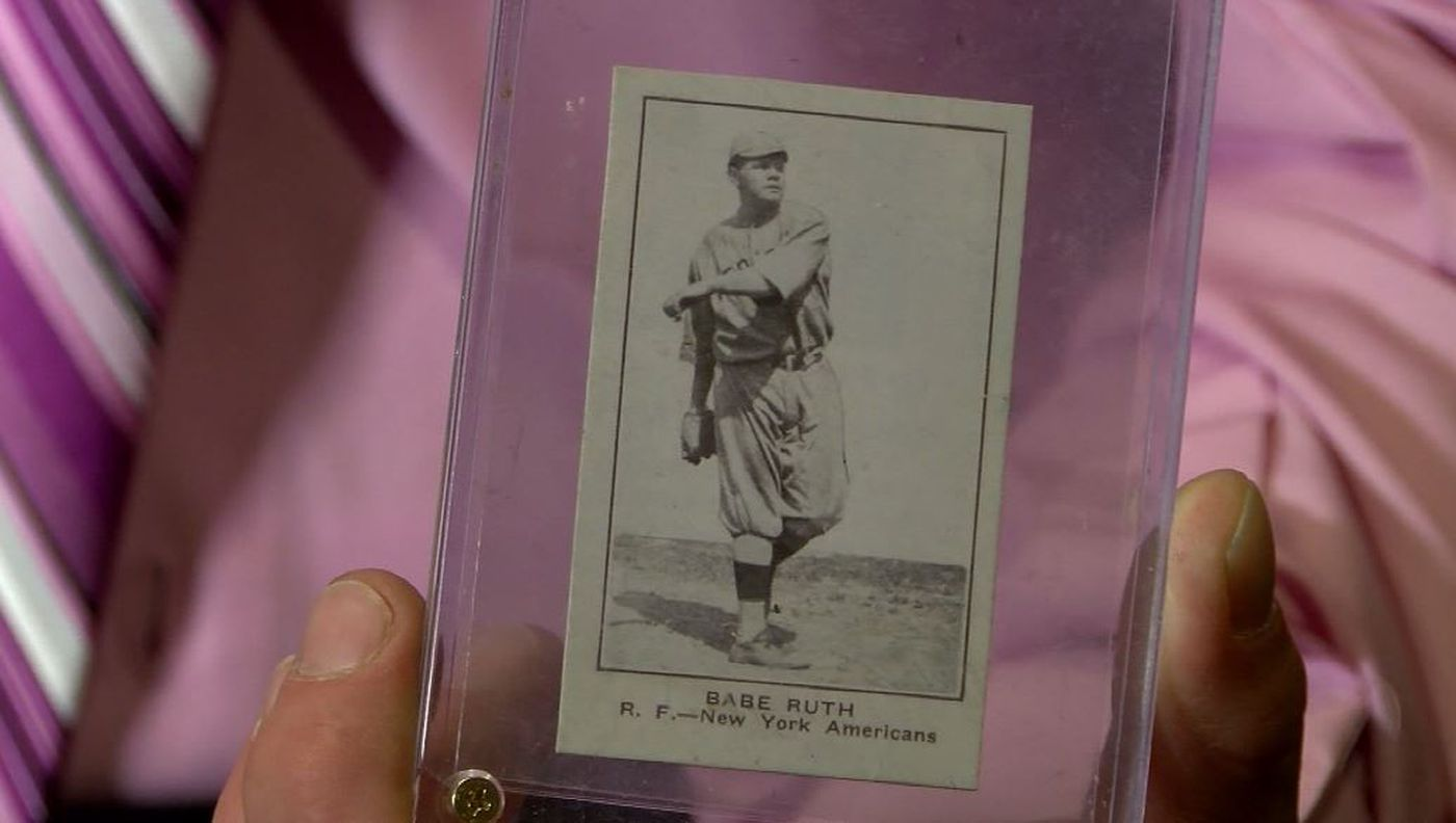 Collector Finds Rare 1921 Babe Ruth Baseball Card Buys For 2