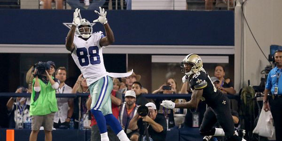 Dez Bryant Caught Ripping Saints Fan in Old Tweet