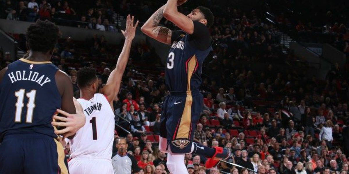 Pels take Blazers best punch and fight back for win