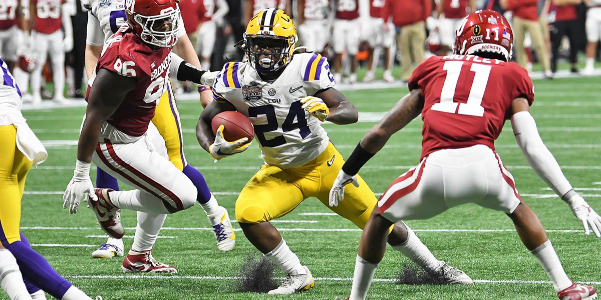 LSU RB Chris Curry steps up big in starting role for injured Clyde Edwards-Helaire