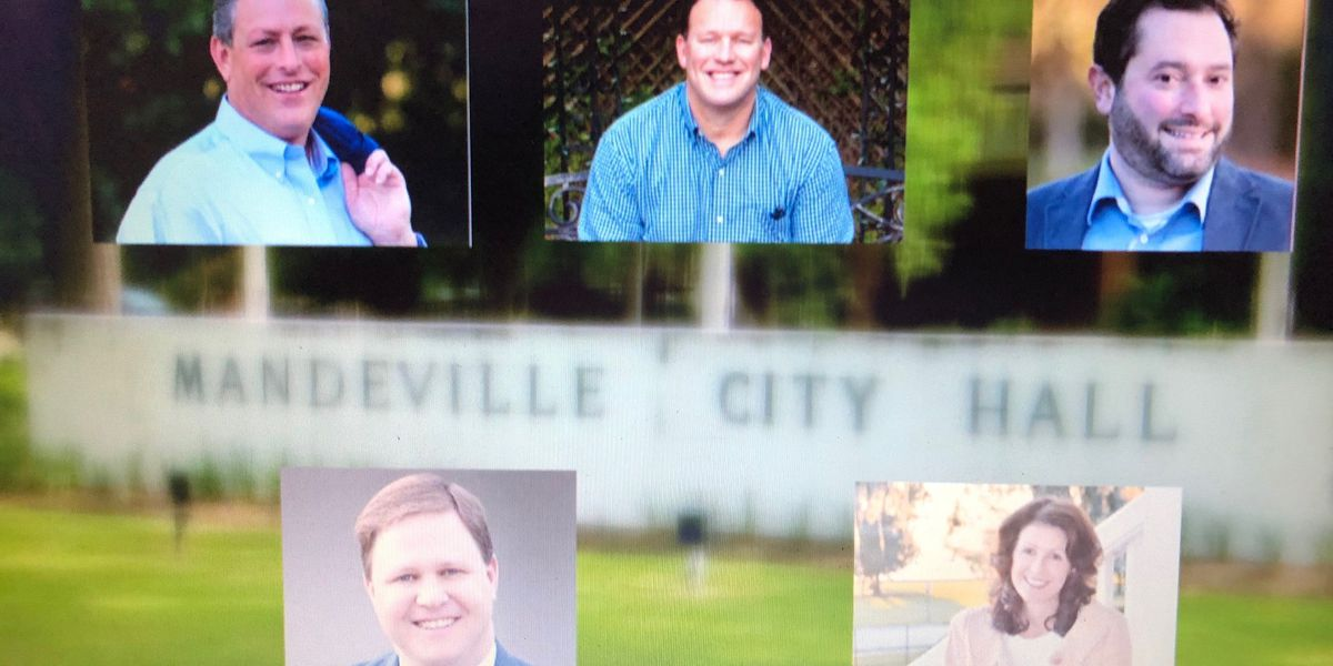 Five candidates running in Mandeville mayor's race next weekend
