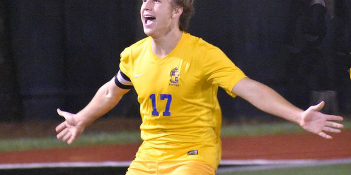 Michael Dufour's hat trick delivers St. Paul's state title