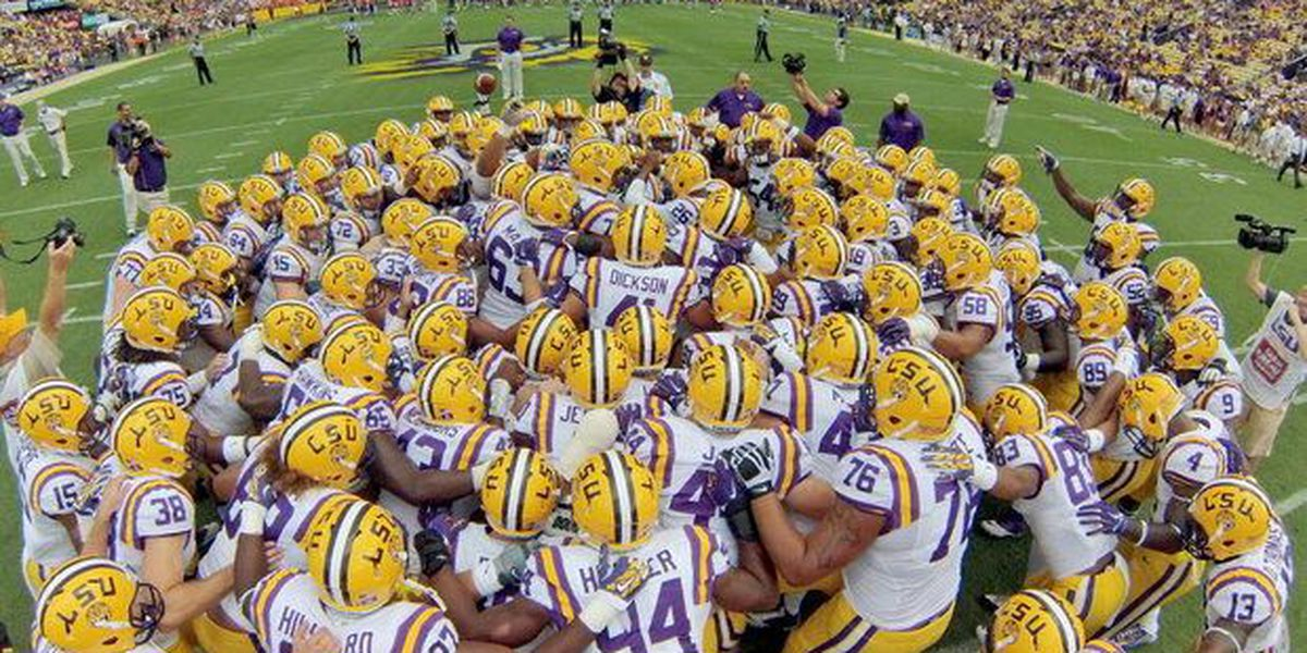 LSU football team inviting students to attend spring practice in Tiger Stadium