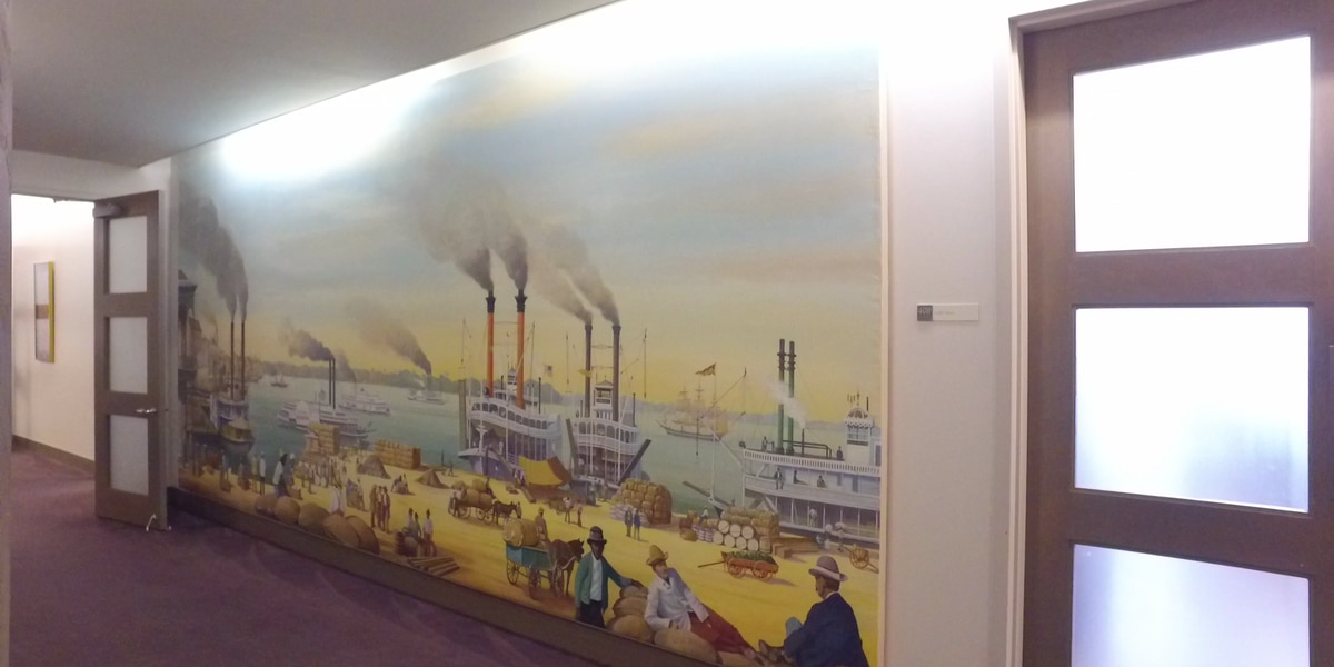 Zurik: Port of New Orleans decides to move mural after FOX 8 report, employees concerns