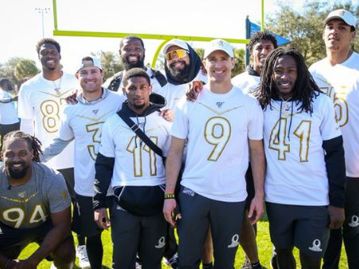 Drew Brees and company fan favorites at Pro Bowl
