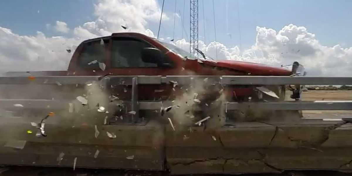 VIDEO: Final round of Causeway barrier tests ends
