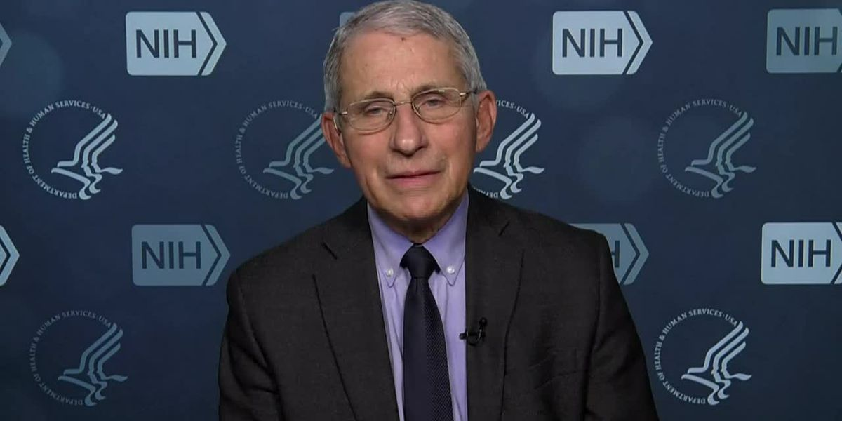 Fauci wants to beat goal of 100 million vaccinations in 100 days