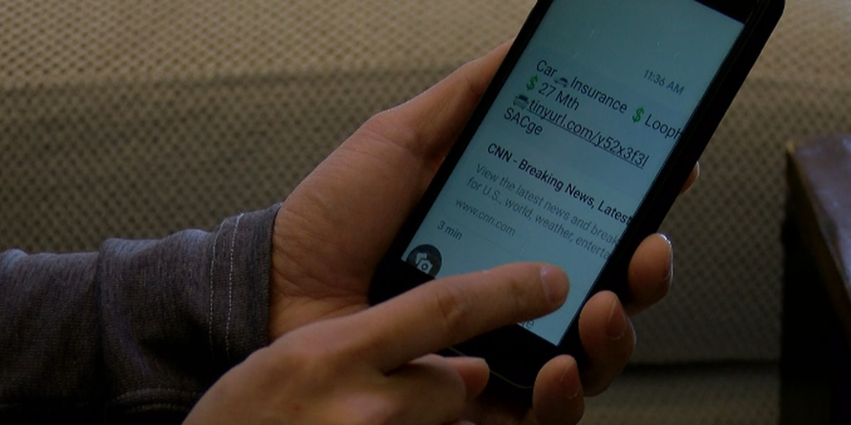 Cyber security experts warn of scams through text messages