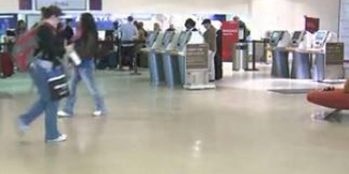 New airport terminal construction crews face delays
