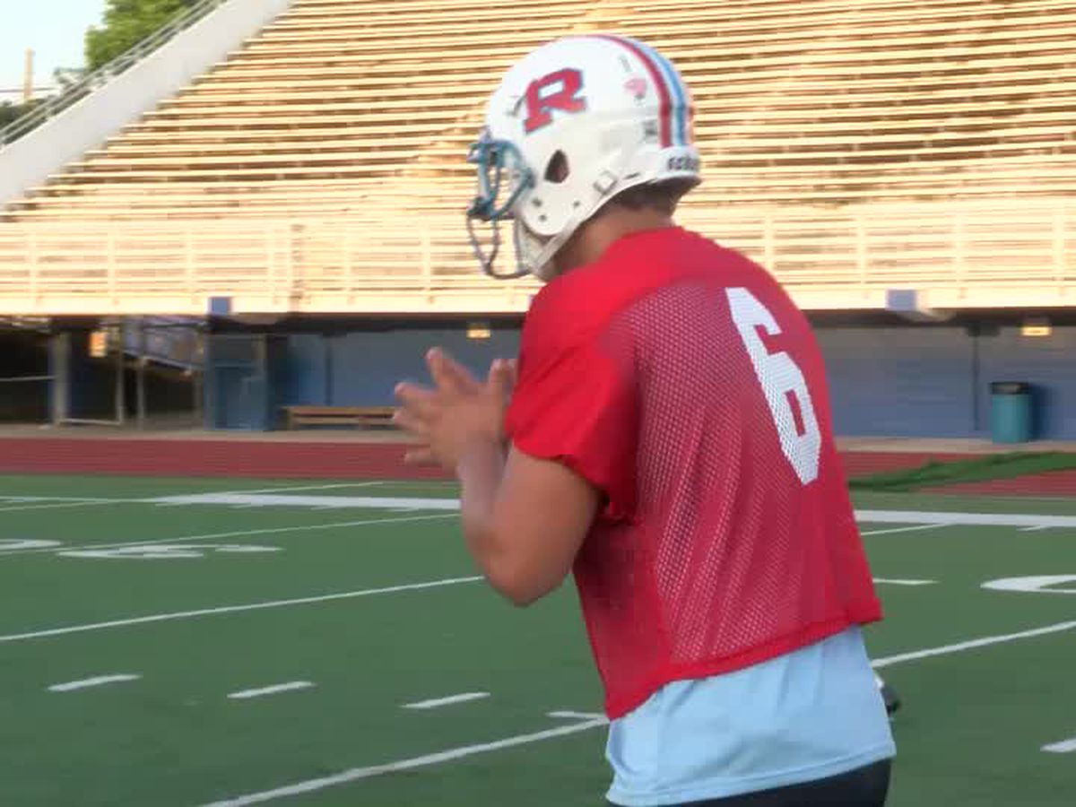 QB Kyle Wickersham takes over controls of the Rummel offense
