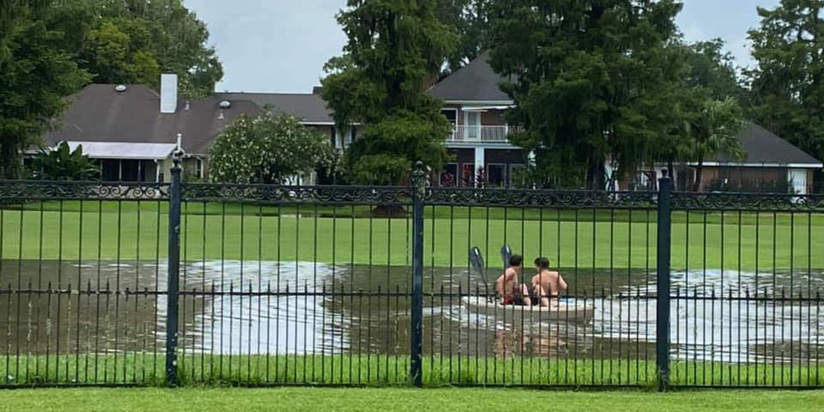 Nine homes flood in St. Charles Parish during Sunday storms