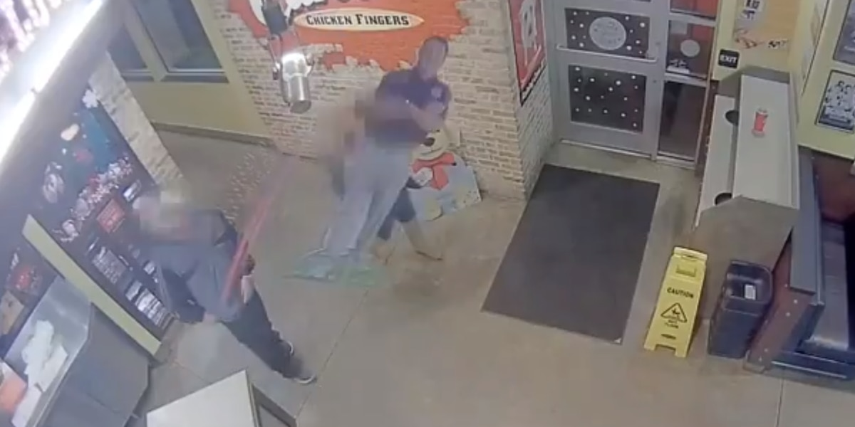 Raising Cane's customers caught on camera snatching Coach O cutouts