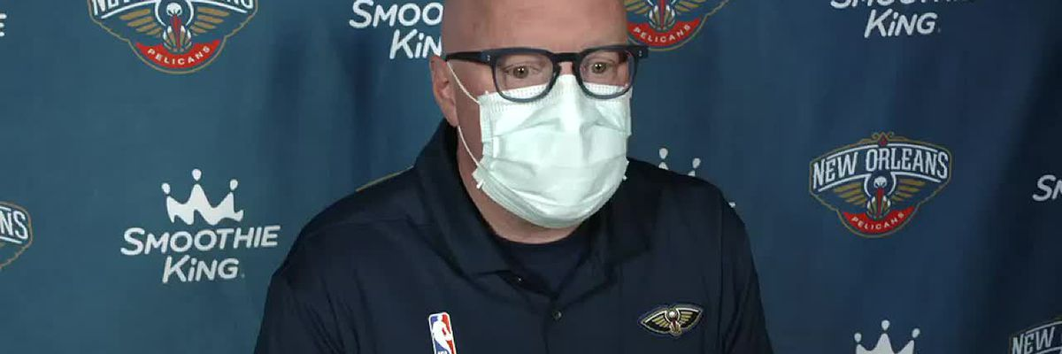 David Griffin reacts to the Pels taking Lewis in Round 1