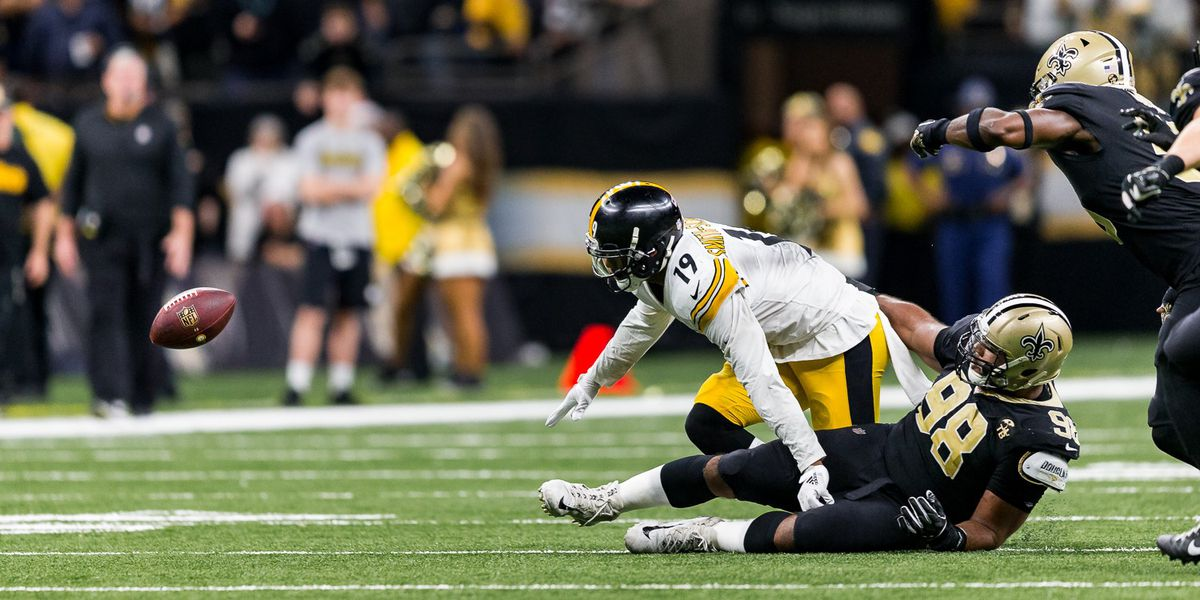 Forced fumbles swing game for Saints once again