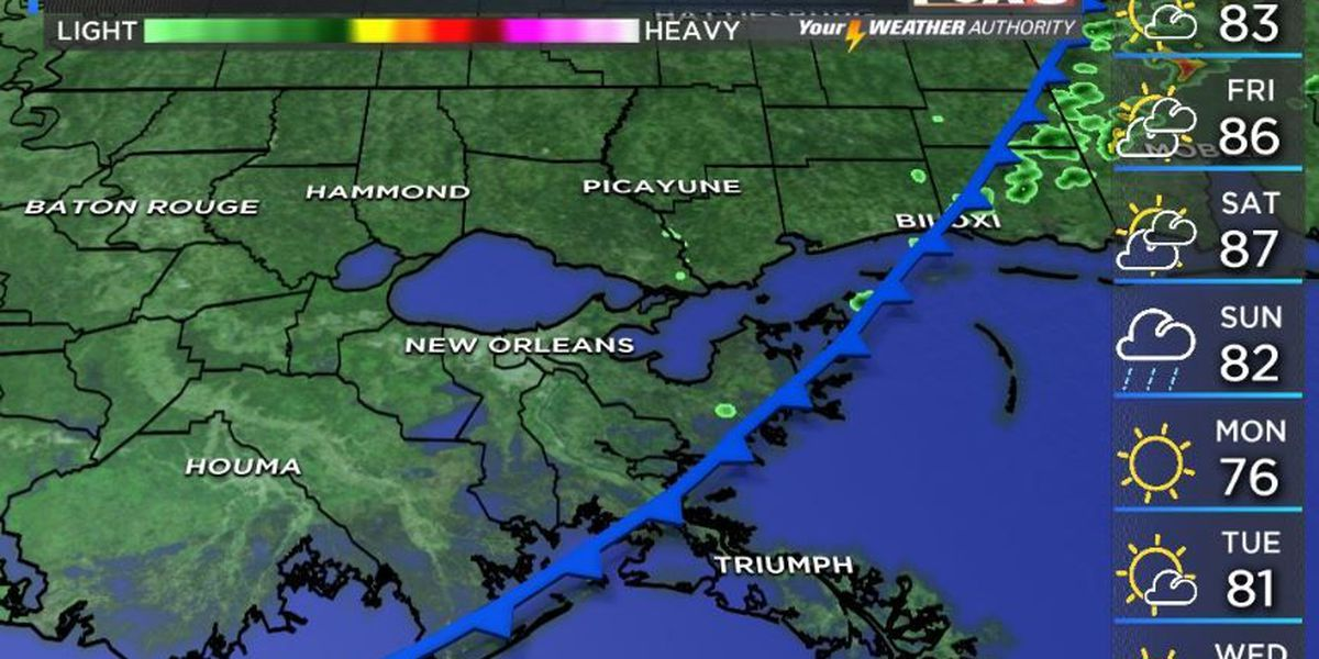 Your Weather Authority: Clouds clear out, temperatures heading back into the 80s