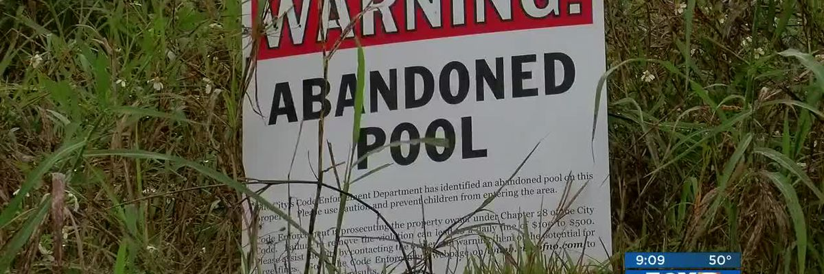 FOX 8 Defenders: City fills dangerous blighted pool