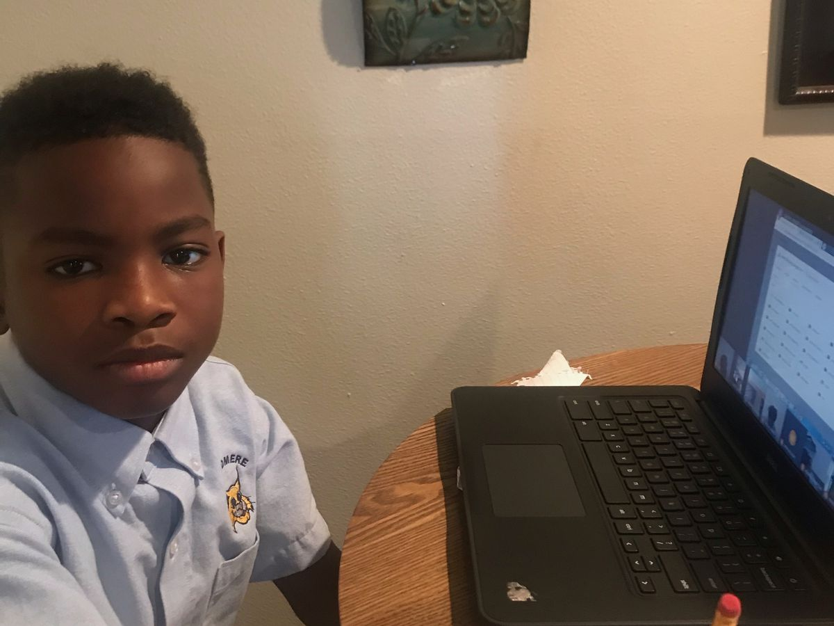 4th Grade virtual learner gets suspended for having a BB gun in his bedroom