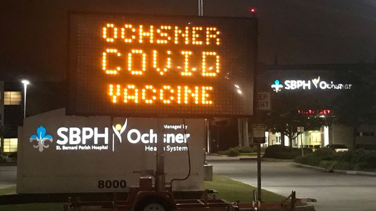 COVID-19 vaccines available in several parishes this week