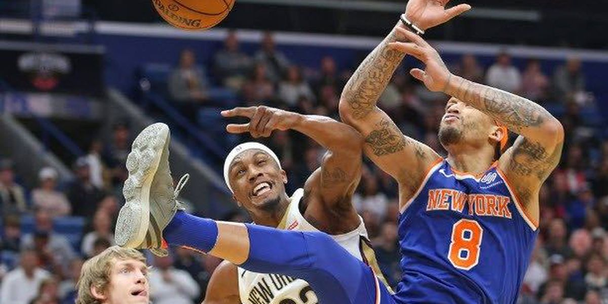 Pelicans fall to Knicks, drop second-consecutive game at home