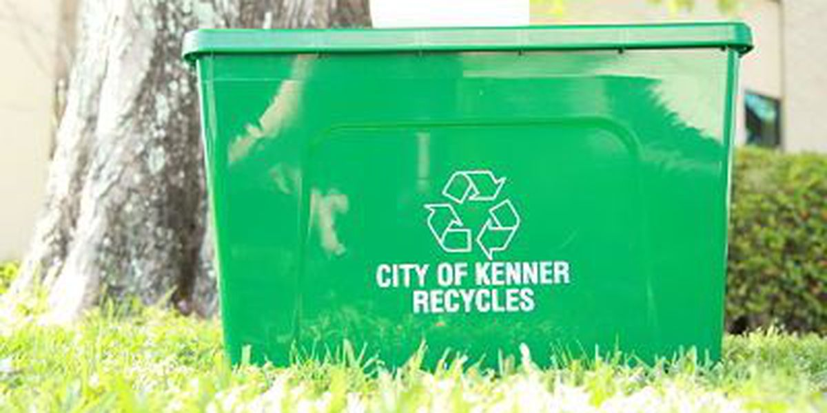 Curbside recycling returns to Kenner