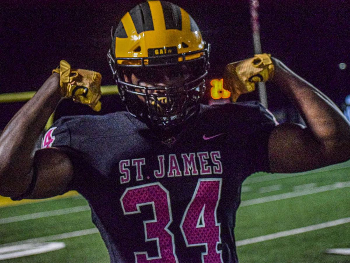 St. James DE Saivion Jones ready to put pen to paper and sign with LSU