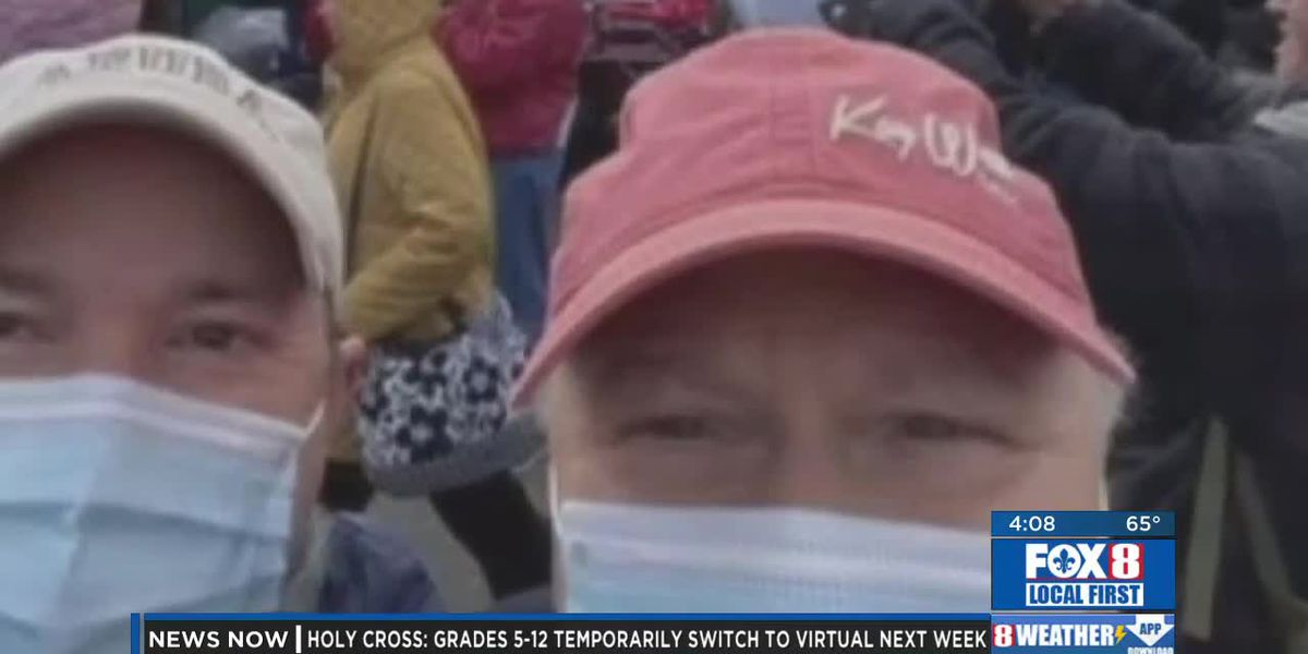 Donald Rouse Sr. apologizes after attending Trump rally