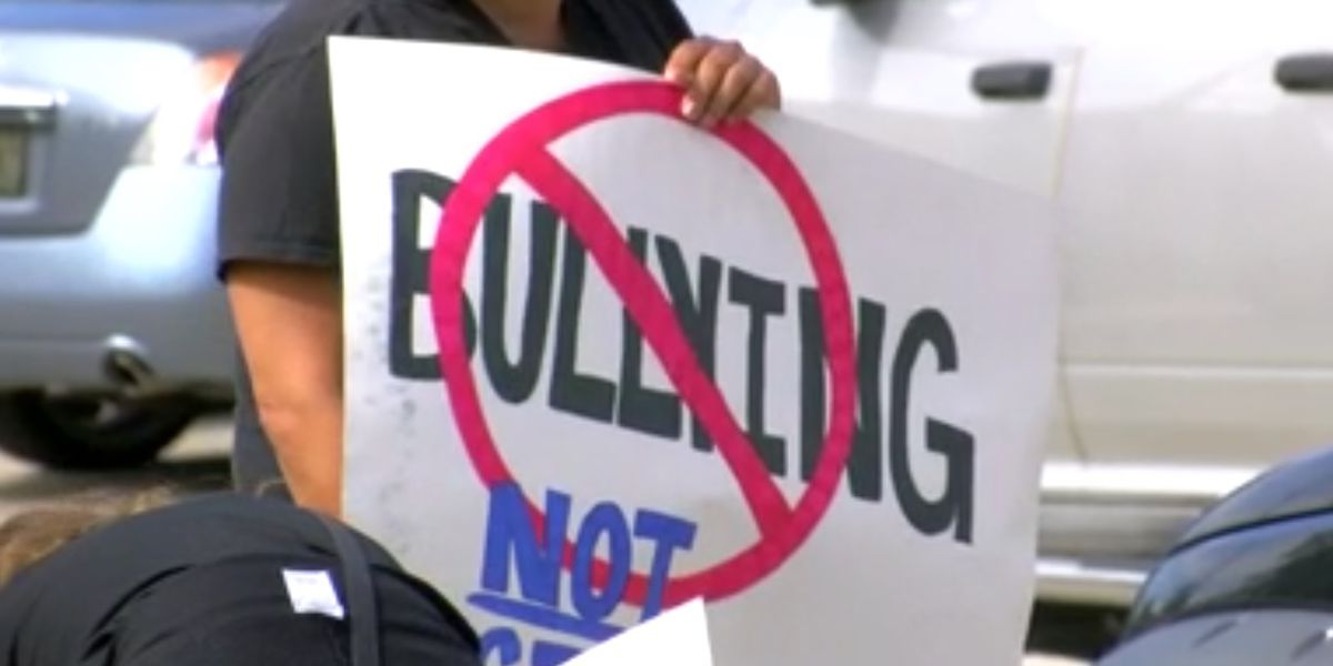 St. Bernard parents protest, raise concerns about bullying in school system