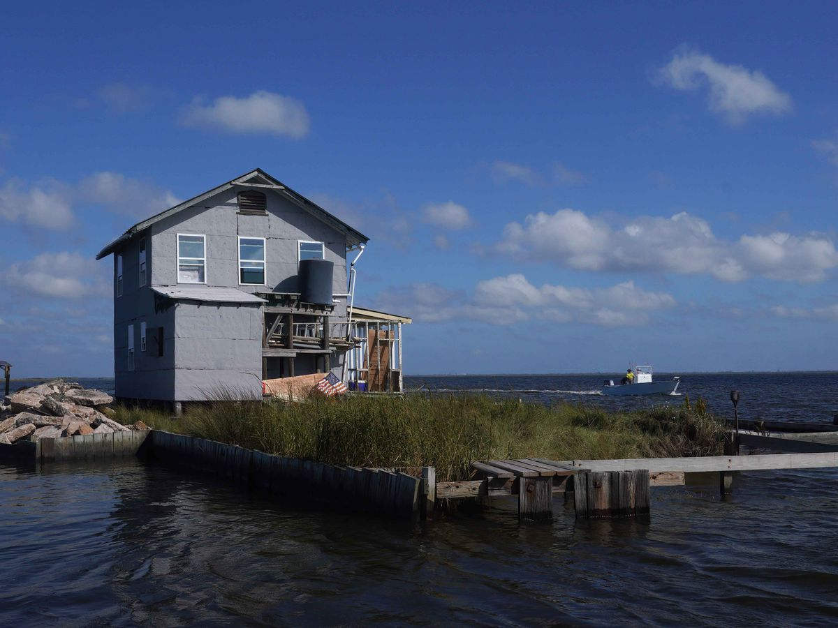 """A camp owner's """"island paradise"""" stands up to the 2020 hurricane season"""