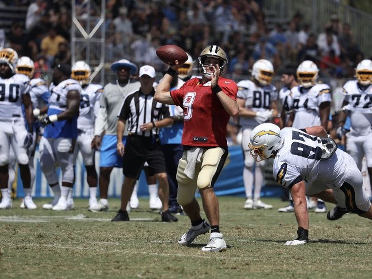 After Further Review: Five takes from Saints /Chargers joint practice #1