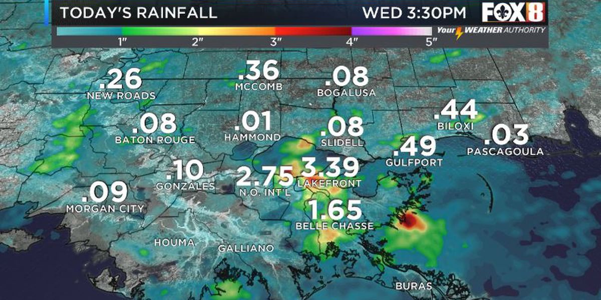 Flooding paralyzes parts of New Orleans