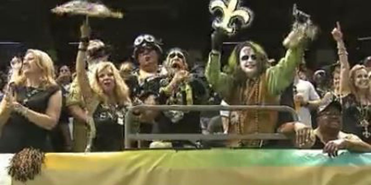 Saints use video to send holiday greeting to fans
