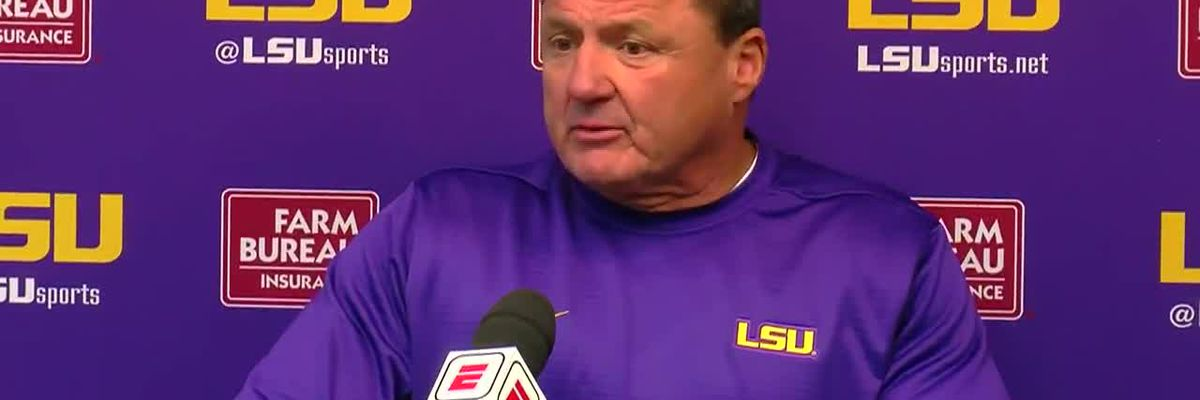 POST GAME: Ed Orgeron