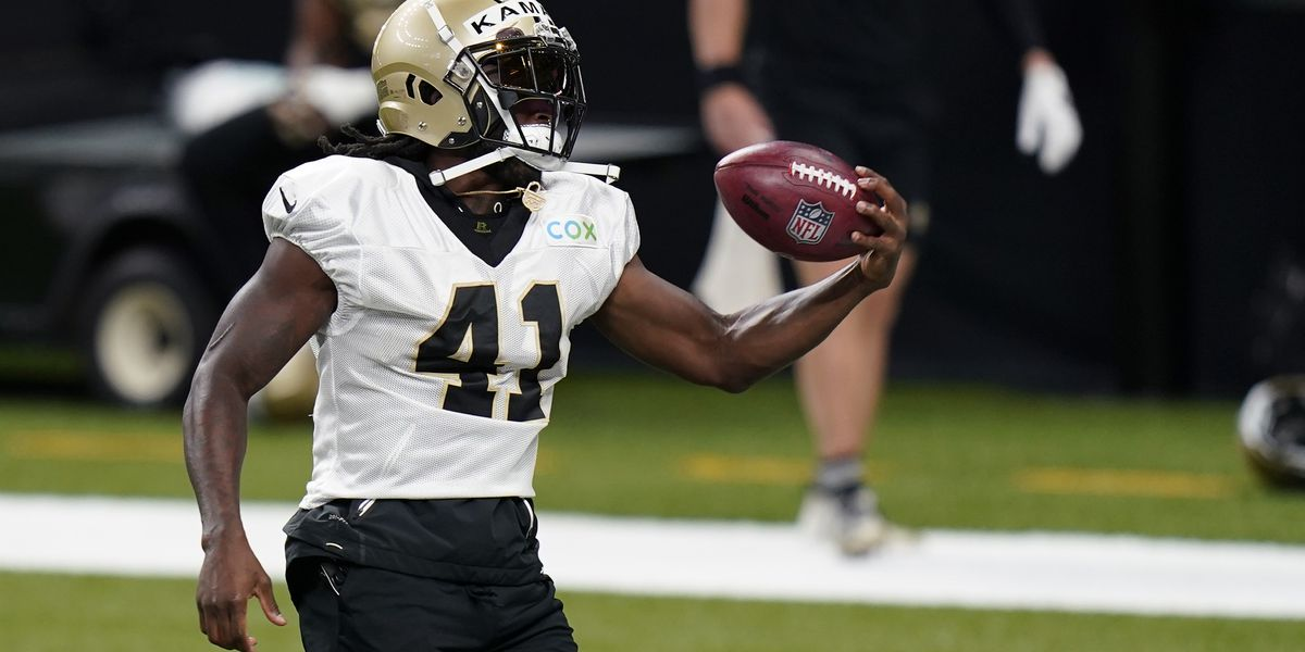 Kamara disputes missing practice as part of contract holdout