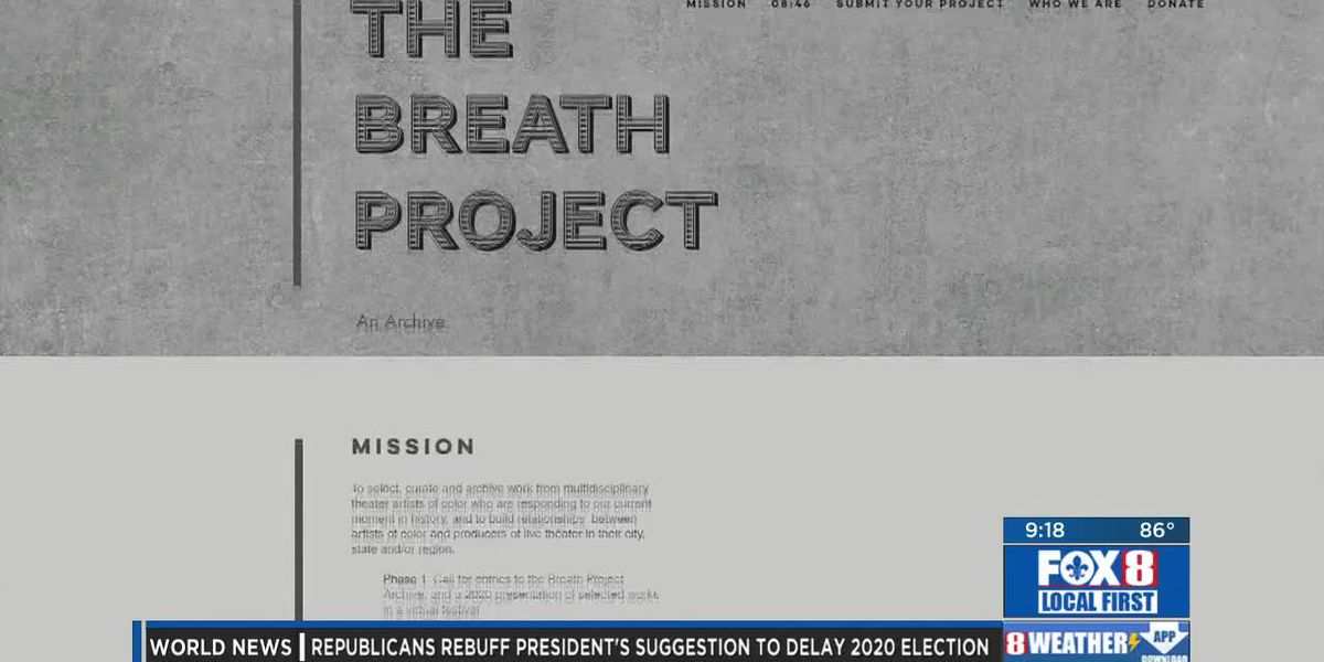 """Southern Rep Theatre's """"The Breath Project"""""""