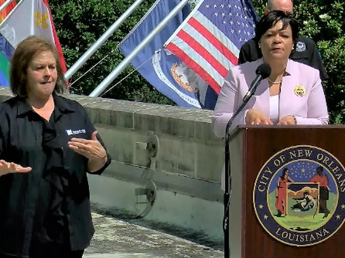 City of New Orleans urges residents to prepare for Tropical Storm Cristobal