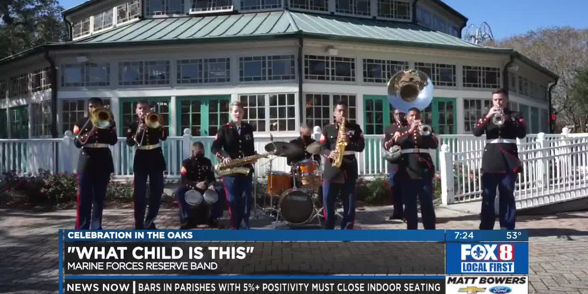 Marine Forces Reserve Band: What Child is This?