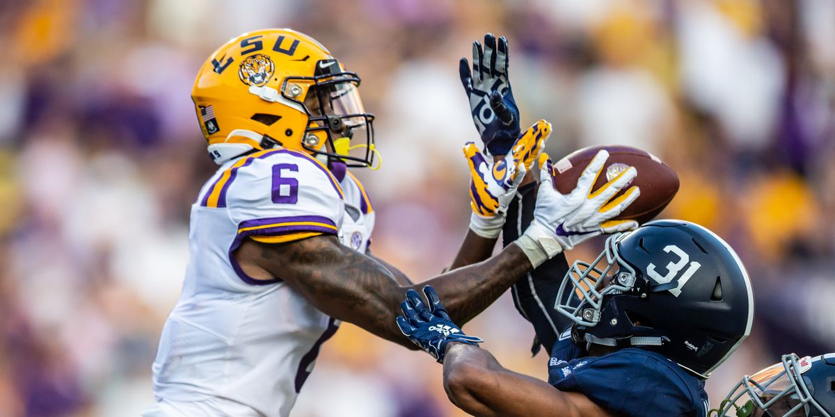 LSU opens as 4-point favorites over Texas